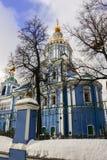 Le temple d'Arkhangel Michael dans le skoye de ` de sko-Arkhangel de ` de Nikol La Russie Photographie stock