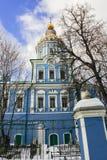 Le temple d'Arkhangel Michael dans le skoye de ` de sko-Arkhangel de ` de Nikol La Russie Images stock