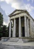 Le temple d'Augustus photographie stock libre de droits