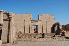 Le temple d'Edfu, Egypte Photographie stock libre de droits