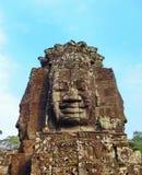 Le temple de Bayon image libre de droits
