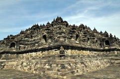 Le temple de Borobudur Images libres de droits
