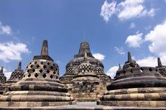 Le temple de Borobudur Image stock