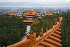 Le temple de Chongsheng Images stock