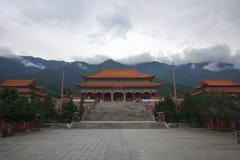 Le temple de Chongsheng Photos stock