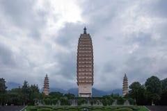 Le temple de Chongsheng Photographie stock libre de droits