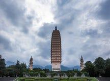 Le temple de Chongsheng Photographie stock