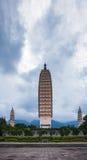 Le temple de Chongsheng Image stock