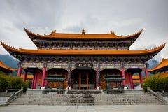 Le temple de Chongsheng Photos libres de droits