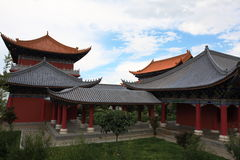Le temple de chongsheng Images libres de droits