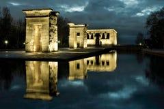 Le temple de Debod Image libre de droits