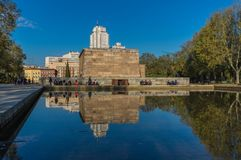 Le temple de Debod, Madrid l'espagne image libre de droits