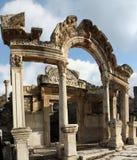Le temple de Hadrian Photos libres de droits
