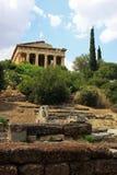 Le temple de Hephaestus à Athènes Images libres de droits