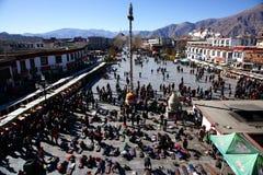 Le temple de Jokhang Image libre de droits