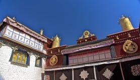Le temple de Jokhang Images libres de droits