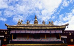 Le temple de Jokhang Images stock
