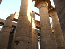 Le temple de l'Egypte de Louxor Photographie stock libre de droits