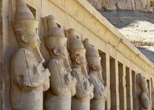 Le temple de la Reine Hatshepsut et de la vallée des rois photographie stock libre de droits