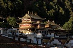 Le temple de Langmu Photographie stock