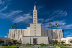 Le temple de Los Angeles la Californie Image libre de droits