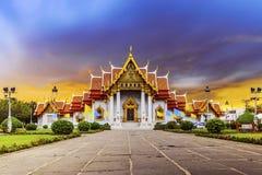 Le temple de marbre Photo stock