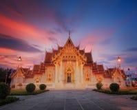 Le temple de marbre Image stock