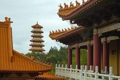 le temple de nan tien Images libres de droits