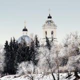 Le temple de Peter et de Paul dans les banlieues de Moscou Image stock