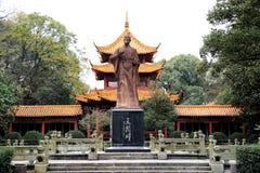 Le temple de Quzi dans la ville de Miluo photographie stock libre de droits
