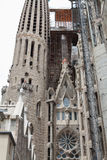 Sagrada Familia. La construction. Image libre de droits