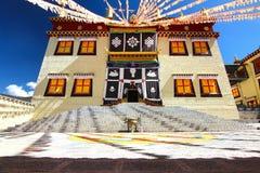 Le temple de Songzanlin également connu sous le nom de monastère de Ganden Sumtseling, est un monastère bouddhiste tibétain dans  Photo stock