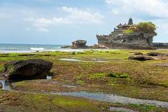 Le temple de sort de Tanah, Bali, Indonésie. Images libres de droits