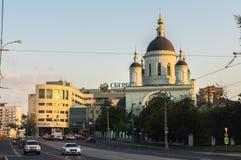 Le temple de St Sergius de révérend de Radonezh dans le Rogozhskaya Sloboda, Moscou, Russie Photographie stock libre de droits