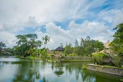 Le temple de Taman Ayun est un temple royal d'empire de Mengwi situé dans Mengwi, la régence de Badung qui est les endroits célèb photo libre de droits
