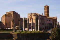 Le temple de Venus à Rome Photos libres de droits