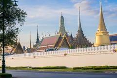 Le temple de Wat Phra Kaew à Bangkok, Thaïlande Photo libre de droits