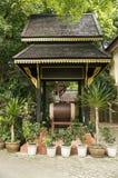 Le temple de Wat Phra Kaew est un du B le plus ancien et le plus vénéré Photo libre de droits