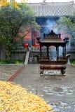 Le temple du Cheval blanc Luoyang, Henan La Chine Image stock