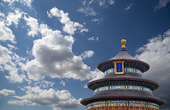 Le temple du Ciel (autel de ciel), Pékin, Chine Photographie stock libre de droits