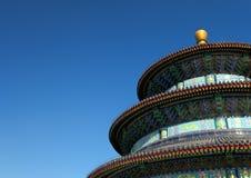 Le temple du Ciel dans Pékin Images libres de droits
