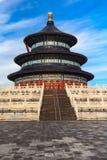 Le temple du Ciel de la vue de côté Photo libre de droits