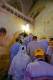 Le temple en Israël au lever de soleil Images libres de droits