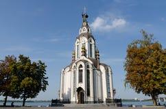 Le temple en l'honneur de St John le baptiste Photos stock