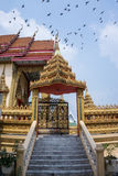 Le temple en Thaïlande Image libre de droits