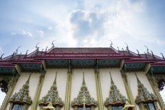 Le temple en Thaïlande Image stock