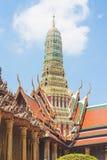 Le temple est un endroit pour l'activité religieuse pour des bouddhistes Image libre de droits