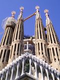 Le temple expiatoire de Sagrada Familia, basilique à Barcelone, catalonia l'espagne l'europe photos libres de droits
