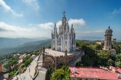 Le temple Expiatori del Sagrat Cor Photographie stock libre de droits