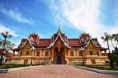 Le temple le plus beau et bluesky Photographie stock